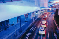 Yan'an elevated road flyover interchange