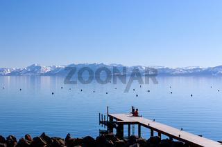 Pier at Lake Tahoe