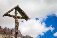 Traditional Crufix in Dolomiti Region - Italy