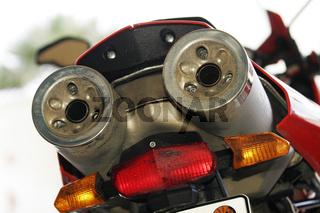 Ducati Multistrada Auspuff | Exhaust pipe motorcyc
