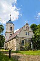 Dorfkirche Zützen (Golßen), Landkreis Dahme-Spreewald, Brandenburg, Deutschland