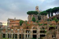 Haus der Vestalinnen Forum Romanum