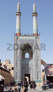 Jame Moschee, Yazd, Iran, Asien