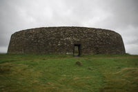 Irish Ring fort in Donegal. Grianan of Aileach