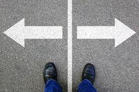 Entscheidung entscheiden Business Konzept Ziele Erfolg Lösung Job Arbeit