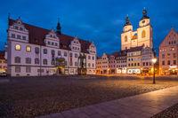Lutherstadt Wittenberg am Abend