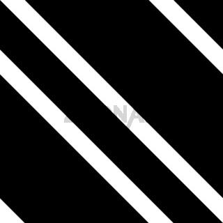 Black and White Diagonal Striped Seamless Pattern