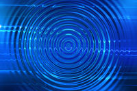 blue ripples background
