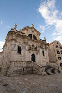 Kirche in Dubrovnik. Kroatien