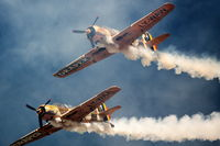 Vintage war aircrafts