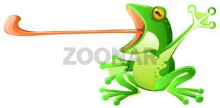 Frog Tongue Cartoon