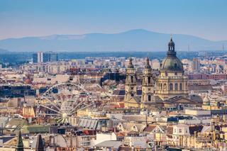 St. Stephen's Basilica and Budapest city skyline, Budapest, Hungary