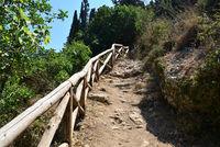 crete mountain pathway
