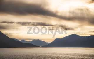 Alaska coastal landscape