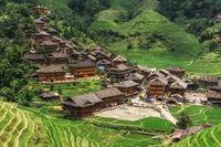 Dazhai village in china