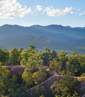 Pay canyon landscape. Thailand