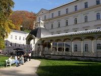 Parkkolonnade (Gartenkolonnade),Karlsbad (Karlovy Vary), Tschechien