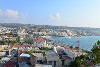 Rethymno city panorama