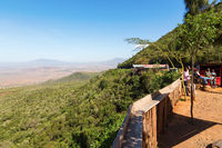 View of the Rift Valley in Kenya