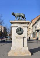 Romulus and Remus statue