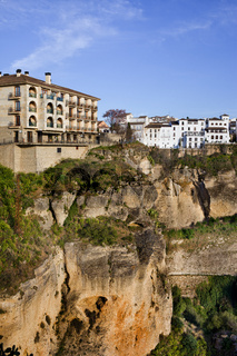 City of Ronda at El Tajo Gorge
