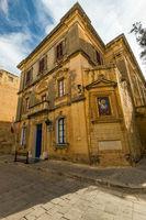 Old medieval church in Mdina,Malta