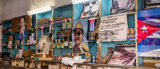 Interior of a local Cuban shop