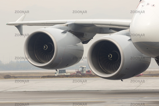 Airbus A380 airplane engines