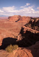 Canyonlands National Park Southeastern Utah Red Rock Ridges