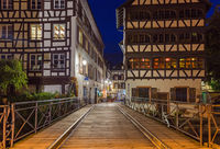 Old town in Strasbourg - Alsace France