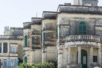 Maltese balcony and entrance