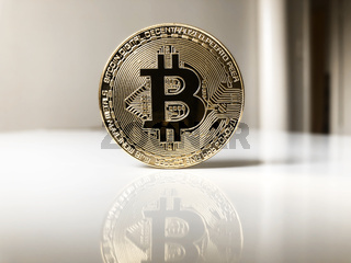 bitcoin cryptocurrency physical coin