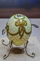 Order of St. George Easter Egg, Shuvalovsky Palace, St. Petersburg, Russia