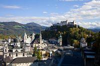 herbstliches Salzburg