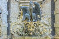 Ornamental Fountain, In St George's Square, Valletta, Malta