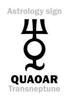 Astrology: planetoid QUAOAR