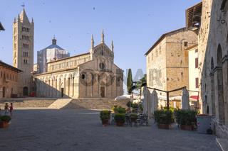 Kathedrale San Cerbone in Massa Marittima, Toskana, Maremma, Italien