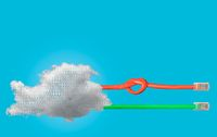 Cloud computing and net neutrality concept