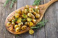 Gegrillte Rosmarinkartoffeln