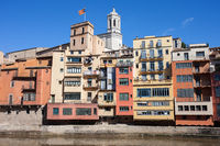 Riverside Houses of Girona