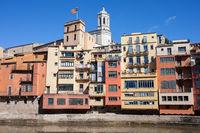 Riverside Houses of Girona