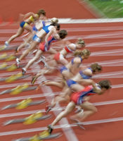 100-Start Frauen - Typical verwischt