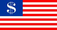 usa dollar flag