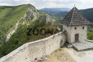 Mittelalterliche Festung von Kljuc, Bosnien