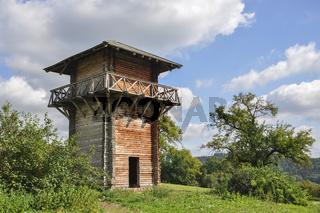 Rekonstruierter Limes-Grenzturm in Lorch
