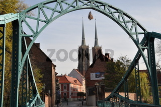 Dominsel in Breslau/Wroclaw