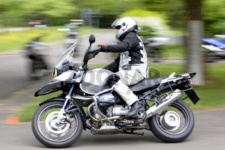 Fahrsicherheitstraining für Motorradfahrer