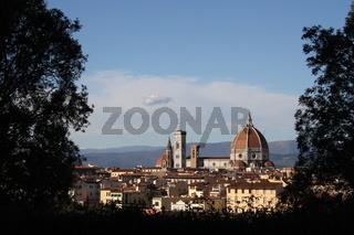 Florenz, Aussicht auf Kathedrale Santa Maria del Fiore