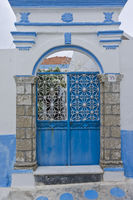 Traditional Village Door, Koskinou, Rhodes, Greece