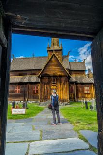 Stabkirche in Lom-19